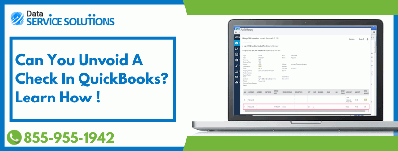 unvoid a paycheck in QuickBooks