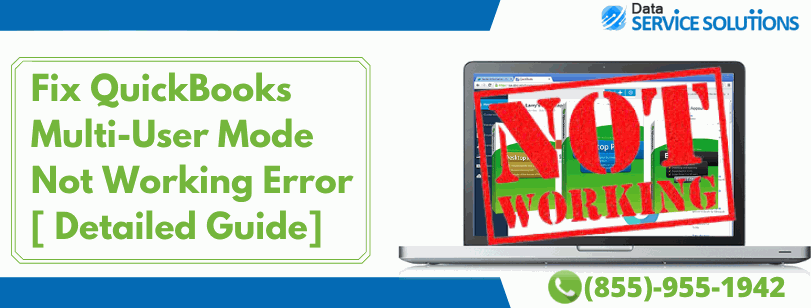 Unable to run QuickBooks in multi user mode