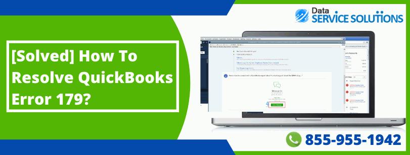 QuickBooks Bank Error 179