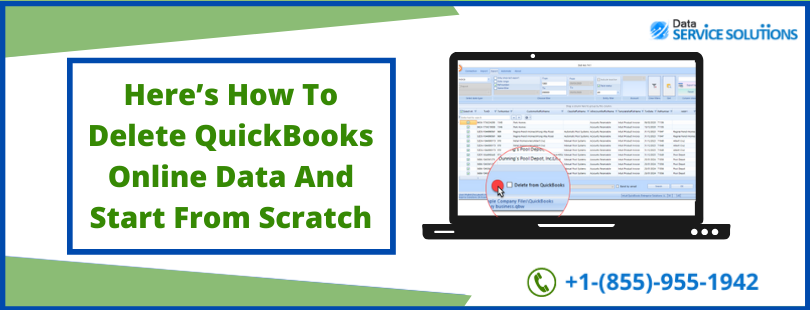 delete quickbooks account and start over