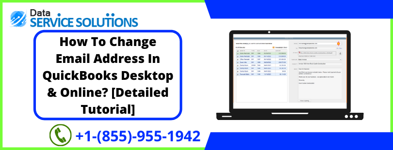 change outgoing email address in quickbooks desktop
