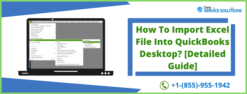 import data to QuickBooks from excel