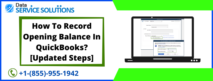 Enter an Opening Balance in QuickBooks