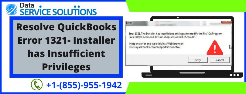QuickBooks Desktop Error 1321