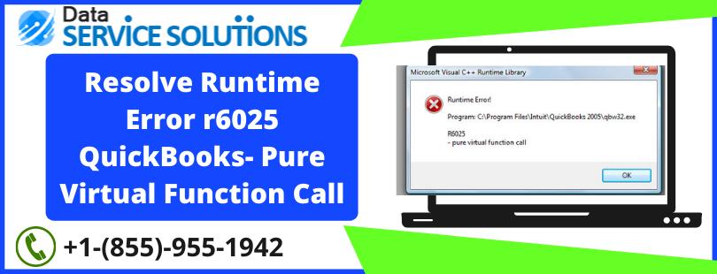 quickbooks runtime error terminate unusual way