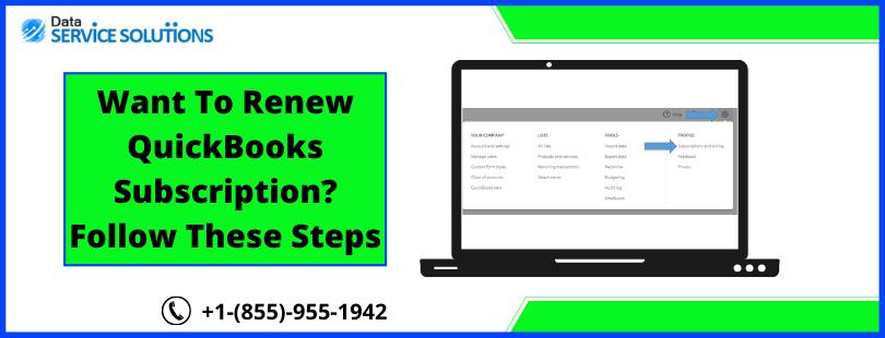 QuickBooks Account Subscription