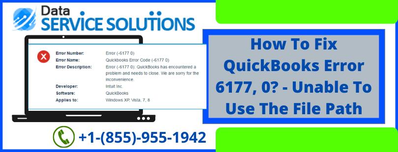 QuickBooks Company File Error 6177 0