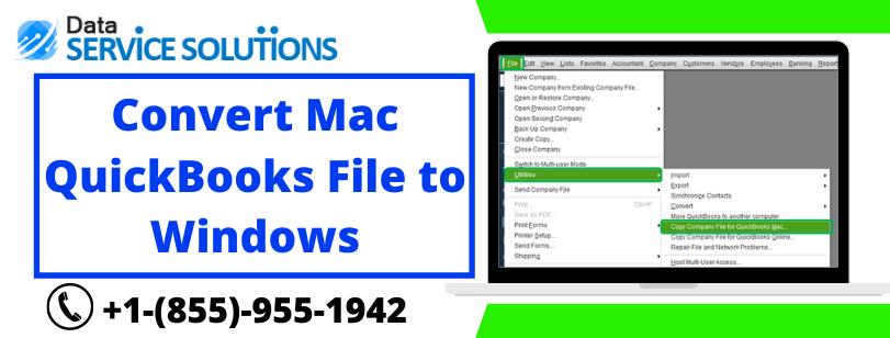 Convert QuickBooks file from windows to mac