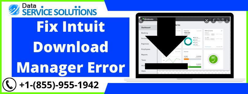 Intuit Download Manager server returned an error